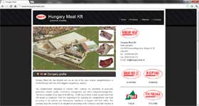 Sito web: Hungary Meat
