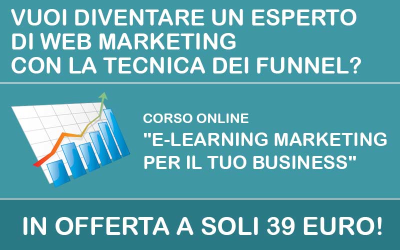 "Corso online ""Elearning marketing per il tuo business"""