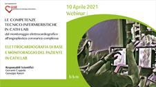 ELETTROCARDIOGRAFIA DI BASE E MONITORAGGIO DEL PAZIENTE IN CATH LAB. 10 APRILE 2021 ORE 10.00-12.00